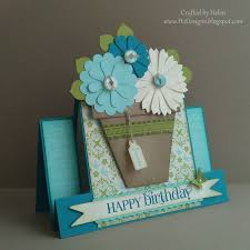 67 best cards flowerpots images on pinterest paper birthday
