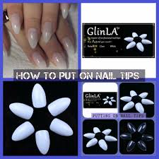 how to glinla talon claw nail tips youtube