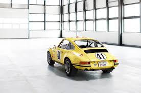 porsche yellow paint code rare 1971 porsche 911 2 5 s t race car restored