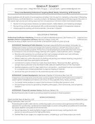 Business Graduate Resume Graduate Resume Package Brightside Resumes
