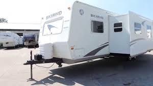Rockwood Travel Trailer Floor Plans Nice Big Clean 33 U0027 2005 Rockwood 8318ss 2 Slides W Bunks Youtube