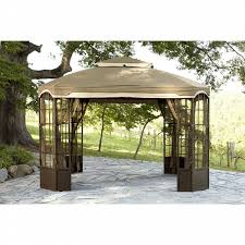 Pergola Replacement Canopy by Garden Oasis Replacement Canopy For Bay Window Gazebo Shop Your