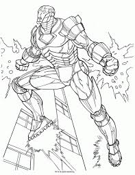 iron man coloring pages for kids iron man marvel iron man inside