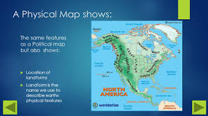 Physical Map Of Central America by Let U0027s Explore Maps Aisa Brammer Ppt Download