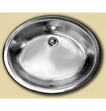 Oval Kitchen Sink Oval Stainless Steel Single Bowl Undermount Kitchen Bathroom