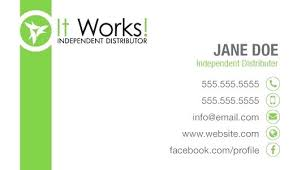 surprising it works business cards card template east coast