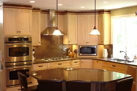 curved island kitchen designs vent kitchen sink images 37 cool fall kitchen dcor ideas digsdigs