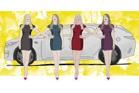 lexus is 200 turbo dane women on cars at motor shows by car magazine