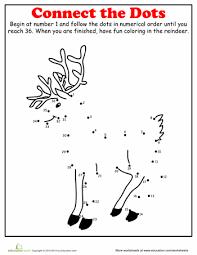 free printable reindeer activities christmas dot to dot reindeer worksheets activities and school