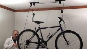 rad cycle products bike hoist youtube