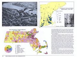 Map Of New England Coast by Historical Atlas Of Massachusetts