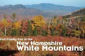 family fun autumn white mountains hampshire