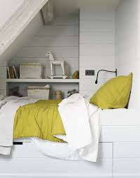 be clever with small spaces here an extra bed has been built under