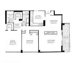 Parc Imperial Floor Plan Parker Plaza Condos For Sale And Rent In Hallandale Beach Florida