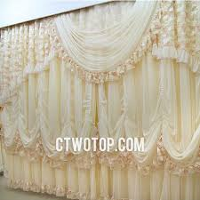 beige floral rome stylish beautiful luxury bedroom lace curtains
