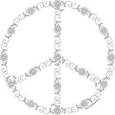 don u0027t eat the paste spring peace symbol coloring page