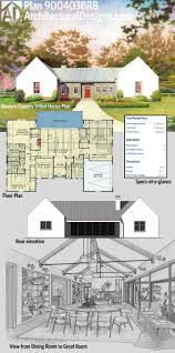 Country House Plans With Open Floor Plan 137 Best House Plans Images On Pinterest Modern House Plans