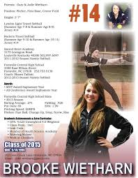 Sample Athletic Resume by 96 Best Sports Resumes Recruiting Flyers Images On Pinterest