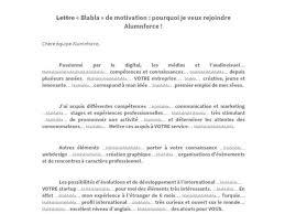 Une Lettre De Motivation Blabla Un Diplômé écrit Blablabla Dans Sa Lettre De Motivation Et