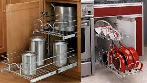 Organizer For Kitchen Cabinets Furniture Add Kitchen Cabinet Pot Organizer To Make Your Best