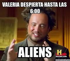 Valeria Meme - despierta hasta las 6 00