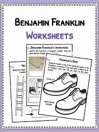 biography facts about benjamin franklin benjamin franklin facts biography information worksheets for kids