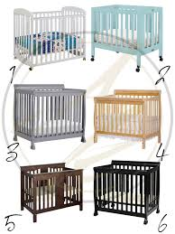 Baby Mini Cribs Small Space Must The Mini Crib By Albie Knows