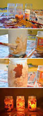 28 diy fall inspired home decorations with leaves fall leaf decoration ideas 13