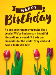 cousin birthday card birthday cards for cousin birthday greeting cards by davia