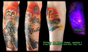 fallout new vegas sleeve session one tattoo