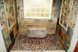 river rock bathroom ideas 28 river rock bathroom ideas how to use river rock tile in