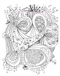free printable zentangle coloring pages print coloring pages pdf free printable zentangle coloring pages 005