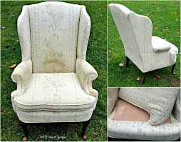 wing back chair makeover take a seat redo it yourself