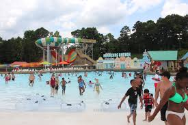 Six Flags Atlanta Water Park Hurricane Harbor Opens At Six Flags Over Georgia Video