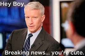 Hey Boy Meme - 8 hey boy anderson cooper memes
