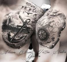21 best 3d nautical tattoo images on pinterest nautical tattoos
