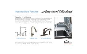 American Standard Cadet Kitchen Faucet by Faucet Com 4101 301 002 In Chrome By American Standard