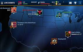 Nba Map Nba Live Mobile Screenshots For Android Mobygames