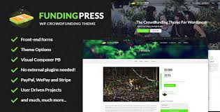 fundingpress the crowdfunding wordpress theme by skywarrior
