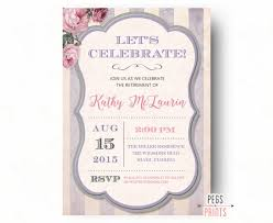 Shabby Chic Invites by Retirement Party Invitation Shabby Chic Retirement Party