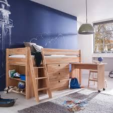 Schreibtisch Hoch Hochbett Blu Mit Schreibtisch Und Kommode Pharao24 De