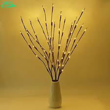 battery lighted willow branches jeebel 60cm 20bulb natural willow twig lighted branch for home