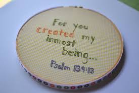 Baby Verses For Baby Shower - scripture embroidery hoop a baby shower gift if only they
