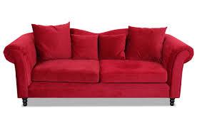 sofa rot 3er sofa rot sofas zum halben preis