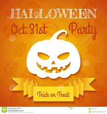kids halloween party flyers halloween party flyer template stock vector image 53276128