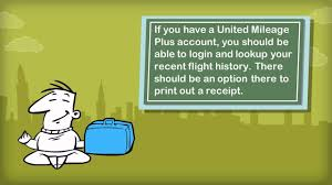 united check in luggage how do i get my baggage receipts for united airlines usa youtube