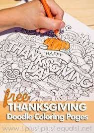 thanksgiving doodle coloring pages doodle coloring activities