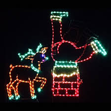 animated outdoor christmas decorations lighted outdoor decorations lighted santa claus decorations