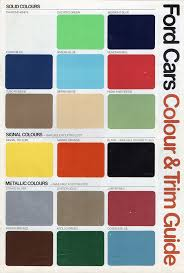 ford car colours chart u0026 ford focus rs 2016 colours