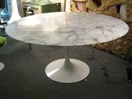 Oval Dining Table Sizes Tulip Top Marble Eero Saarinen Round